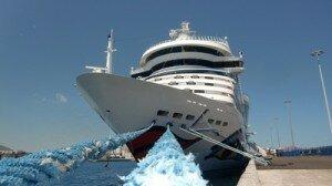 Tourismus Studium luxuriöses Kreuzfahrtschiff